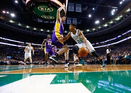 Rookie point guard Phil Pressey provided 9 assists, 6 points, and 2 steals with no turnovers in 22 minutes on Friday night against the Lakers.